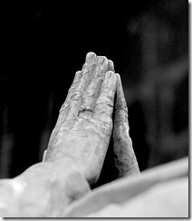 praying hands by Joi on flickr