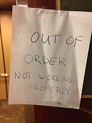 out of order by stevendepolo on flickr