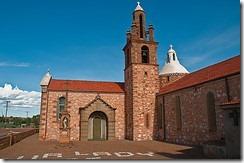 Church at Mullewa Western Australia by Graeme Churchard