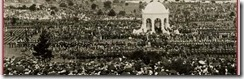 crowd at swearing in ceremony Centennial Park Sydney 1901 960x300 75pc