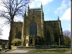 Dunfermline Abbey Church in Fife Scotland by Dave Conner 250x188 75p