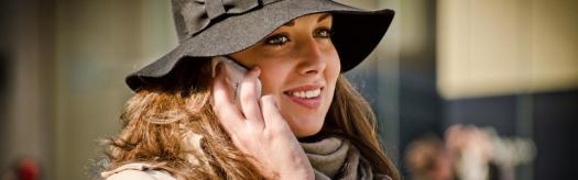 Black Felt Hat and mobile by Garry Knight on Flickr 960x300 75pc