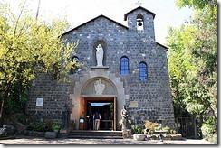 Church in Plaza Vasco Cerro Cristobal Santiago Chile by Robert Cutts on Flickr
