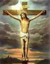 Jesus on cross 90pc