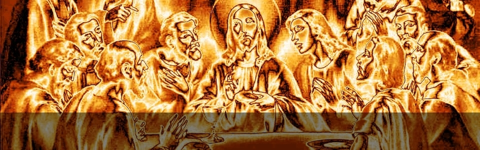 the last supper 960x300 85pc metallic-gold-dark stripe