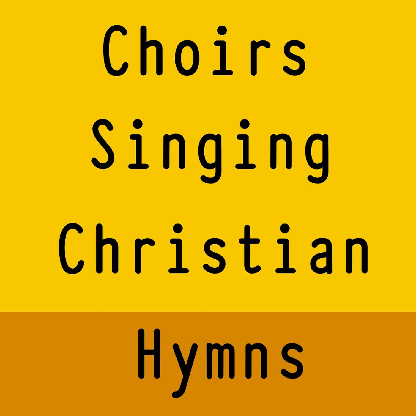 Choirs singing hymns
